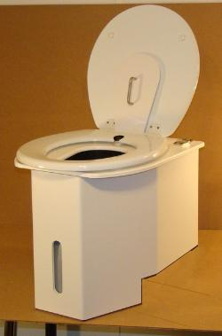 how to clean out portable toilet