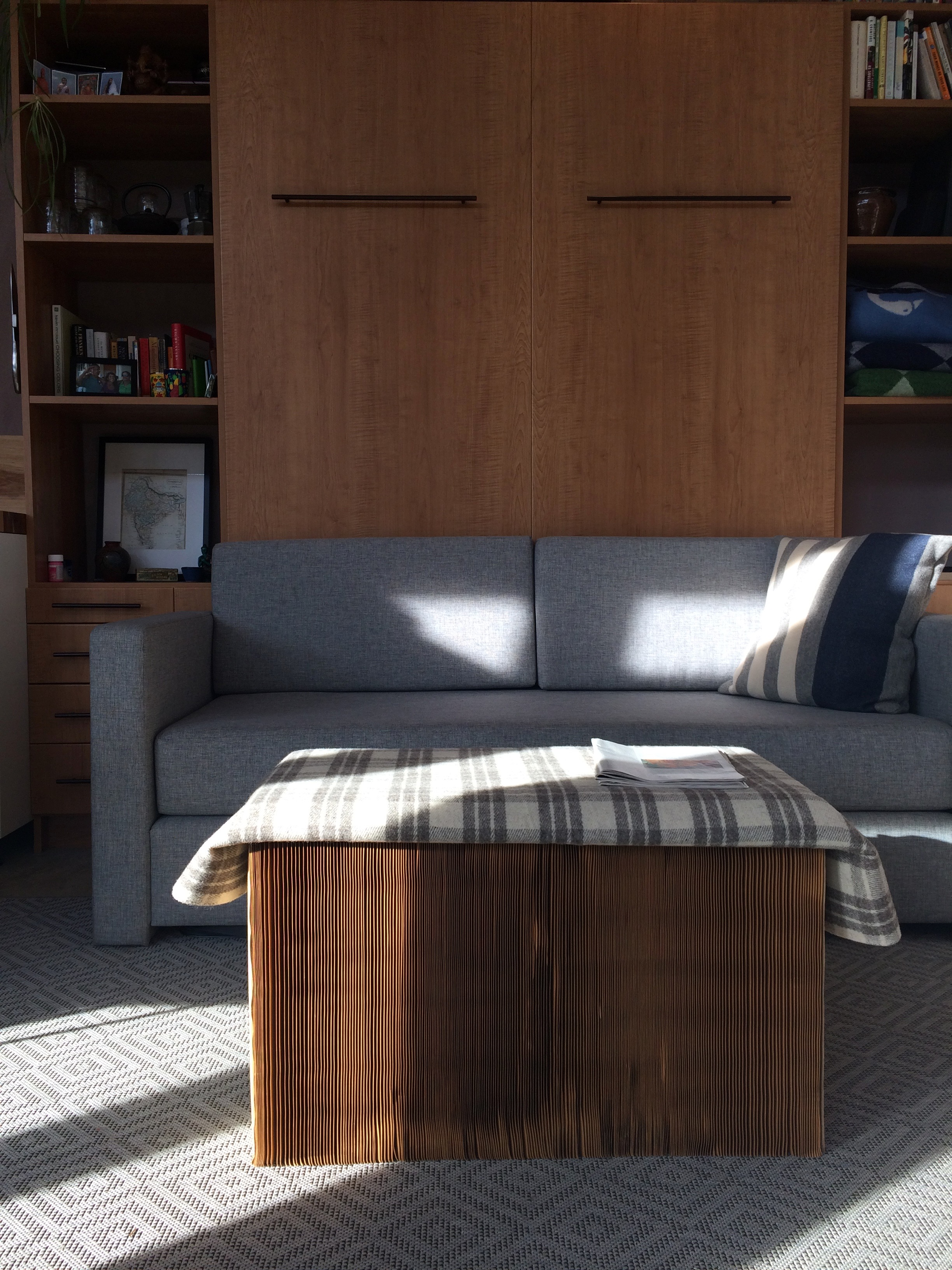 Murphy Coffee Table.Studio Murphy Bed And Collapsible Coffee Table Micro Showcase